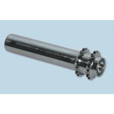 Ролики биконусные с покрытием из полиуретана, адипрена, вулколлана